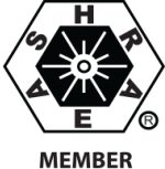 American Society of Heating, Refrigerating and Air-Conditioning Engineers member logo